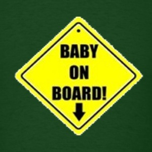 Baby on board - Men's T-Shirt