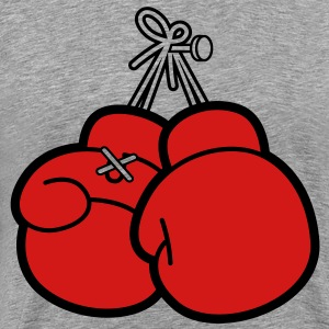 Boxing Gloves (2c)++ T-Shirts - Men's Premium T-Shirt