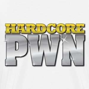 Hardcore PWN (Color) - Men's - Men's Premium T-Shirt