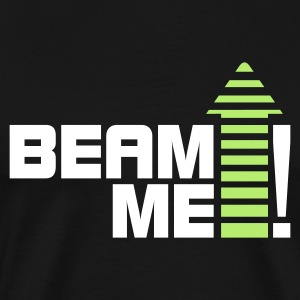 Beam me up 1_2c T-Shirts - Men's Premium T-Shirt