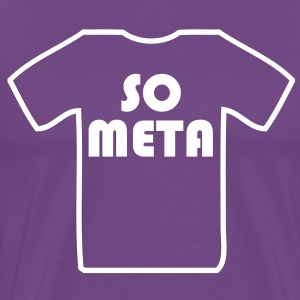 Meta Shirt on a Shirt T-Shirts - Men's Premium T-Shirt
