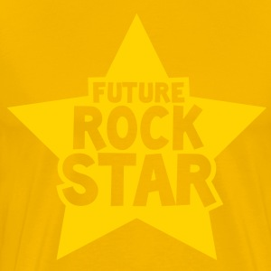 future rock star in pink T-Shirts - Men's Premium T-Shirt