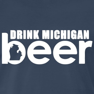 Michigan Beer T-Shirts - Men's Premium T-Shirt