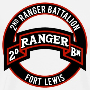 2nd Ranger Ft Lewis T-Shirts - Men's Premium T-Shirt