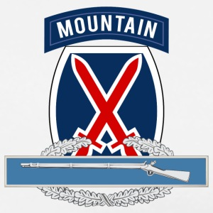 10th Mountain CIB T-Shirts - Men's Premium T-Shirt