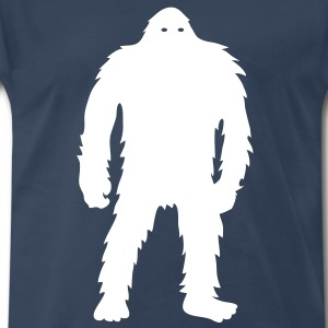 Bigfoot (White) - Men's - Men's Premium T-Shirt