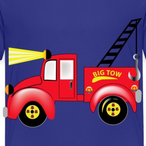 Tow Truck - Toddler Premium T-Shirt
