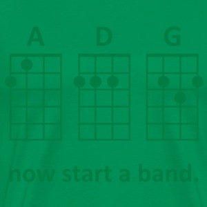 ADG: Now Start a Band (Green) - Men's - Men's Premium T-Shirt