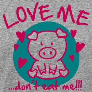 Love me, dont eat me T-Shirts - Men's Premium T-Shirt