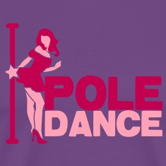 pole dance sexy lady T-Shirts