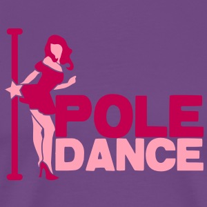 pole dance sexy lady T-Shirts - Men's Premium T-Shirt