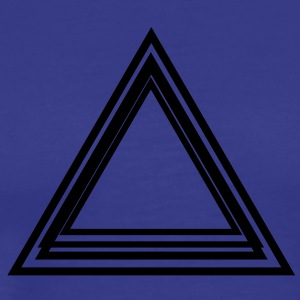 triangle_lines T-Shirts - Men's Premium T-Shirt