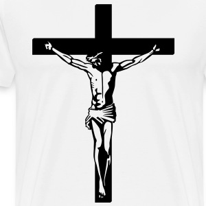 On the Cross HD VECTOR T-Shirts - Men's Premium T-Shirt