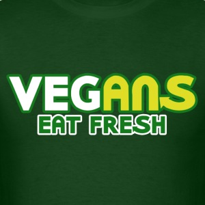 Vegans Eat Fresh - Men's T-Shirt