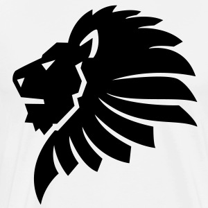 Lion Head HD VECTOR T-Shirts - Men's Premium T-Shirt