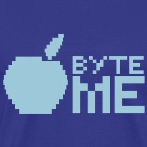byte me  T-Shirts - Men's Premium T-Shirt