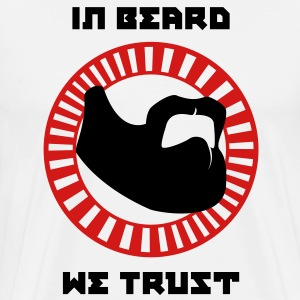 In Beard We Trust - Men's Premium T-Shirt