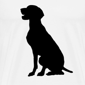 German Pointer - Men's Premium T-Shirt