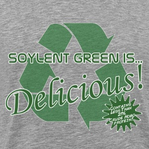 Soylent Green with Hobos T-Shirts - Men's Premium T-Shirt
