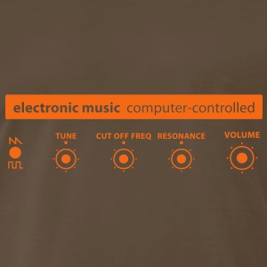 electronic_music T-Shirts - Men's Premium T-Shirt