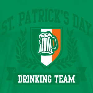 st. patrick's day drinking team T-Shirts - Men's Premium T-Shirt