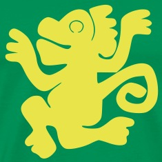 Green_Monkeys (HQ) T-Shirts