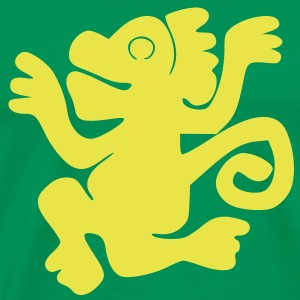 Green_Monkeys (HQ) T-Shirts - Men's Premium T-Shirt