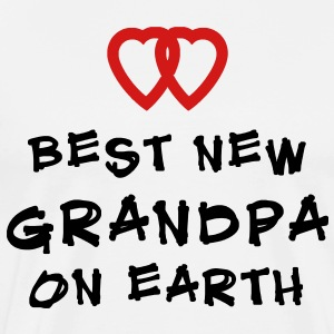 Best New Grandpa T-Shirt - Men's Premium T-Shirt