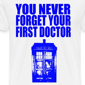 first doctor T-Shirts - Men's Premium T-Shirt