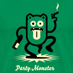 Partymonster / Party Monster  No.1_2c T-Shirts - Men's Premium T-Shirt