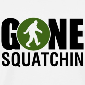 Gone Squatchin Green - Men's Premium T-Shirt