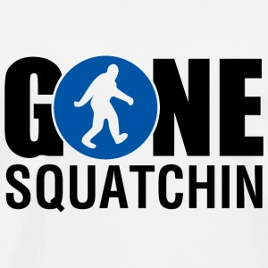 Gone Squatchin Blue - Men's Premium T-Shirt