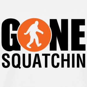 Gone Squatchin Orange - Men's Premium T-Shirt
