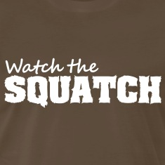 Watch The Squatch (White) - Men's