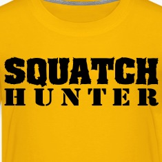 Squatch Hunter (Black) - Kid's