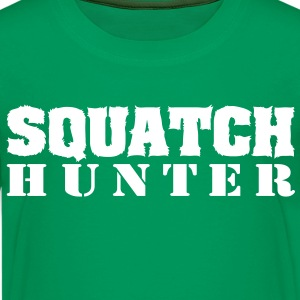 Squatch Hunter (White) - Kid's - Kids' Premium T-Shirt