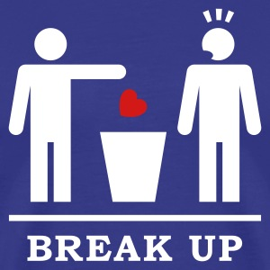 Break up - Broken Heart Boys 2c T-Shirts - Men's Premium T-Shirt
