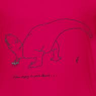 Design ~ T-Rex Picking Flowers (Kids)