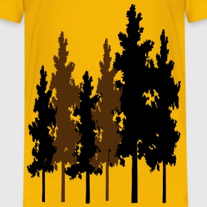 trees_in_forrest2 Kids' Shirts - Kids' Premium T-Shirt