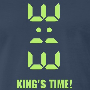 3:13 - King of Time (only) 1c T-Shirts - Men's Premium T-Shirt