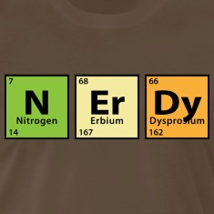Periodic Table Nerdy T-Shirts