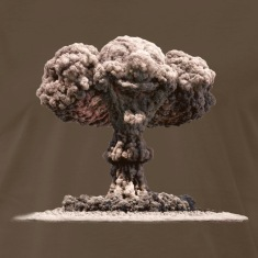 Nuclear Explosion (2 Sided)