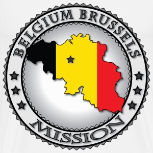 Belgium Brussels LDS Mission - Called to Serve - Men's Premium T-Shirt