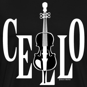 Cello In Cello White T-Shirts - Men's Premium T-Shirt