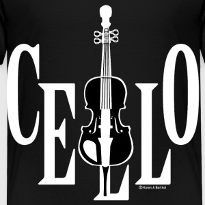 Cello In Cello White Toddler Shirts - Toddler Premium T-Shirt