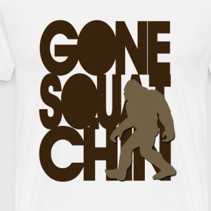 Gone Squatchin' Brown - Men's Premium T-Shirt