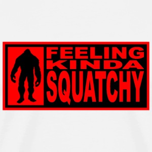 Squatchy red T-Shirts - Men's Premium T-Shirt