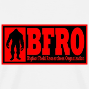 BFRO red T-Shirts - Men's Premium T-Shirt