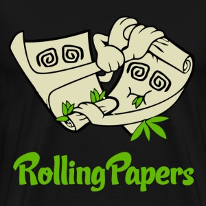 Rolling Papers T-Shirts - Men's Premium T-Shirt