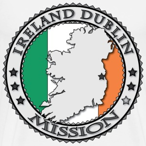 Ireland Dublin LDS Mission Called to Serve - Men's Premium T-Shirt